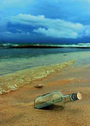 Une bouteille à la mer…