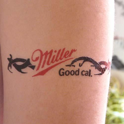 Les tatouages temporaires sans eau