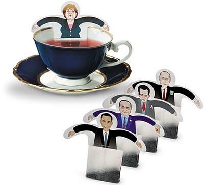 Sachets de thé promotionnels