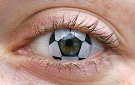 Les lentilles de contact publicitaires