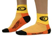 La chaussette publicitaire : quel pied !