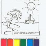 La palette magique de coloriage