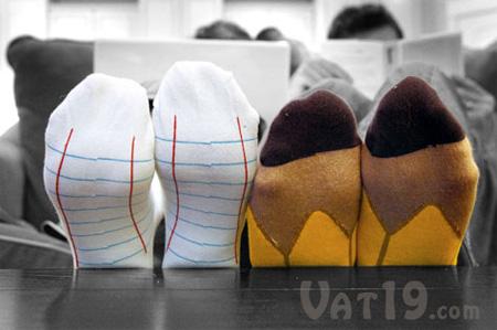 chaussettes publicitaires originales