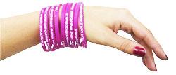 Fashion le bracelet silicone fin ?