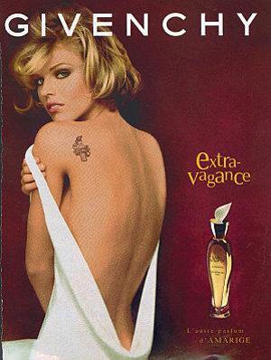 tatouage dans la publicité