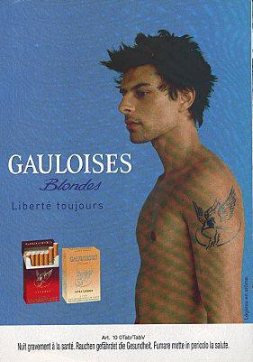 tatouages et sigarettes