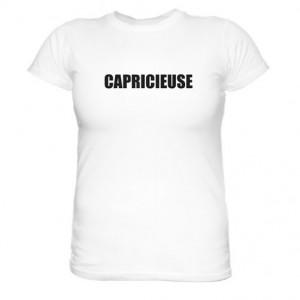 Tee-shirt-personnalisé-capricieuse