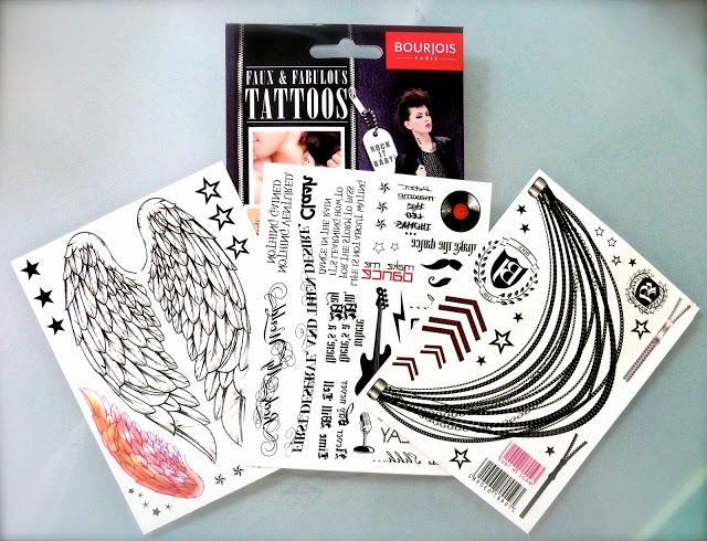 Les tatoos faux & fabulous de Bourjois