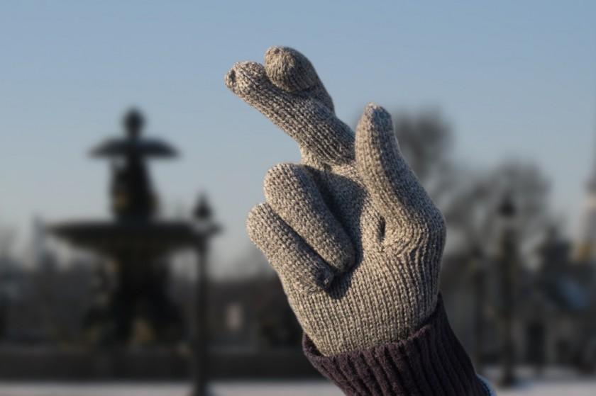 Vendredi 13 : croisez les doigts avec les gants