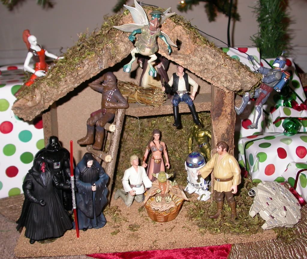 deco sapin star wars