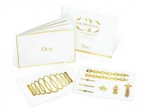 tatouages-dorés-Dior