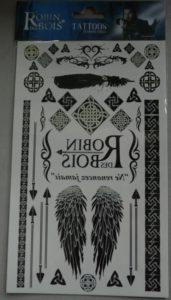 Conquise par Robin des bois et ses tatouages... temporaires (17)