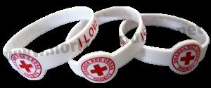 lecon-de-communication-avec-la-Croix-Rouge-bracelets-silicone