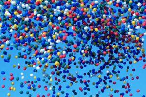 tout ce que vous avez toujours voulu savoir sur les ballons de baudruche lacher de ballons