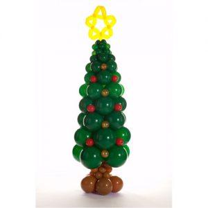 Le-sapin-de-Noel-en-ballons-canon-vert-5