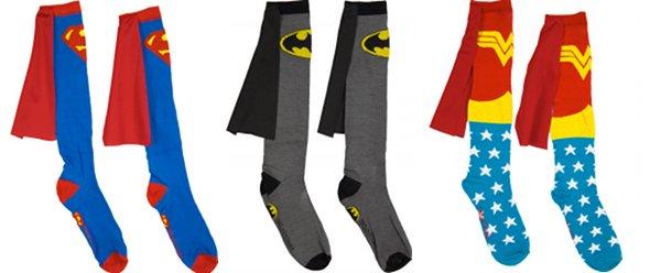 Les chaussettes personnalisées ou l'accessoire des superhéros