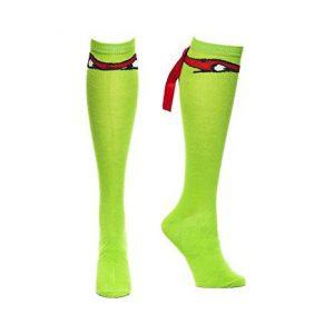 Les-chaussettes-personnalisees-ou l-accessoire-des-superheros-Tortues-Ninja