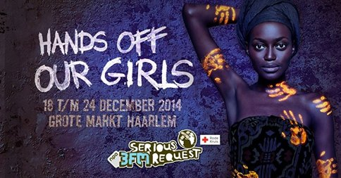 Les bracelets silicone HANDS OFF OUR GIRLS : on