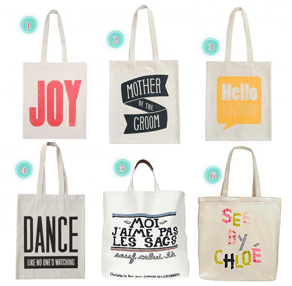 Les tote bags personnalisés :  com' fashion à
