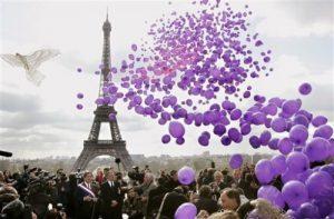 gonflage des ballons à l'hélium