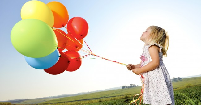 Le gonflage des ballons à l'hélium