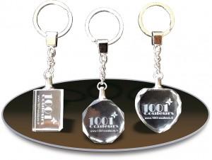 porte-clés cristal personnalisés