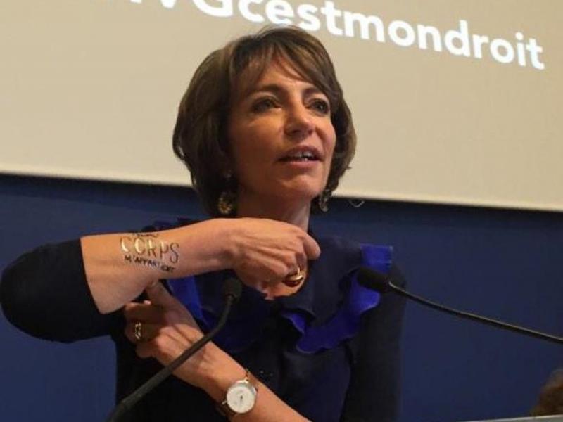 Les tatouages temporaires symboles de la campagne du droit
