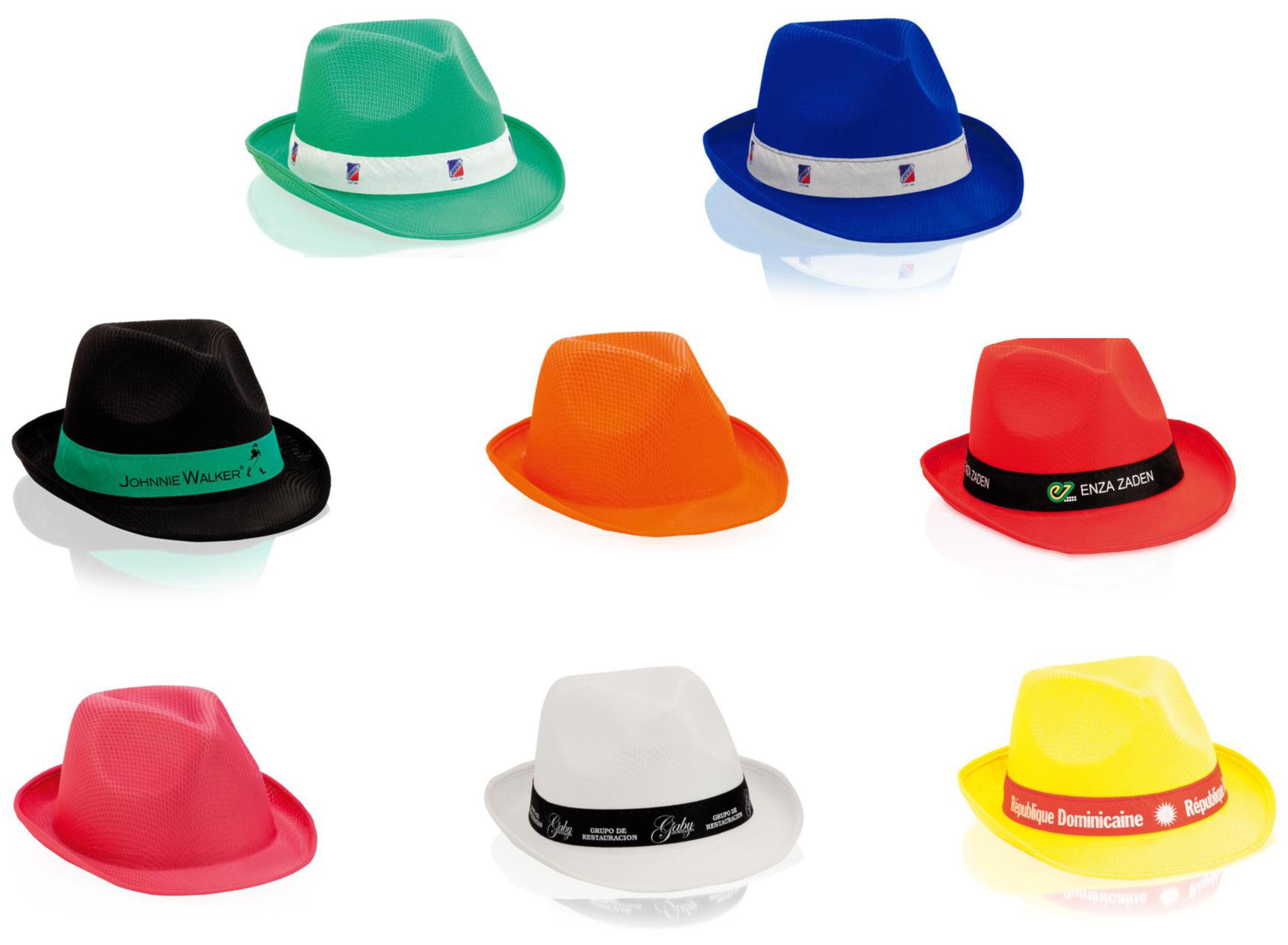 Personnaliser les chapeaux avec votre propre logo