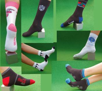 De belles chaussettes personnalisées : c'est le pied !