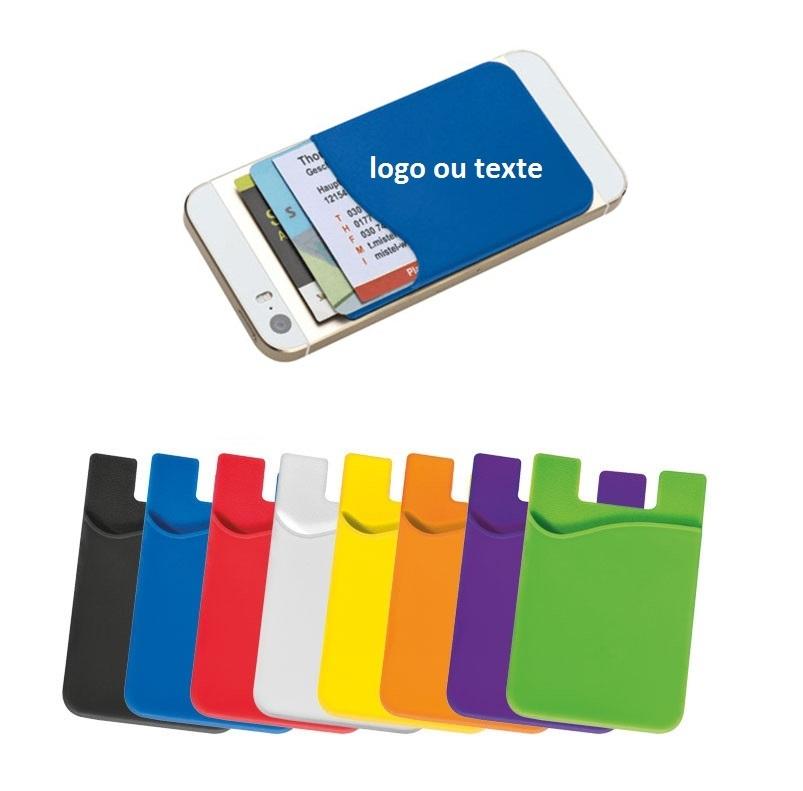 Le porte-carte en silicone pour Smartphone