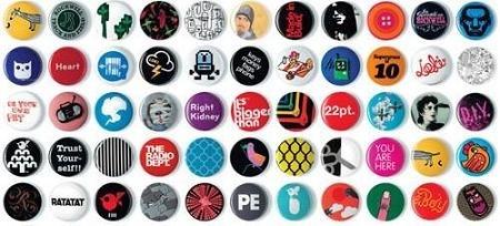 Votre logo sur des badges imprimés