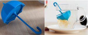 Boule à thé silicone parapluie ombrelle