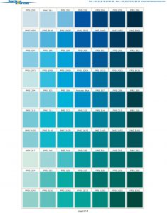 Pantone® Matching System Color Chart