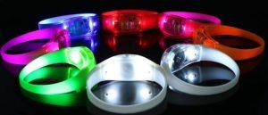 Bracelet-LED- personnalisé