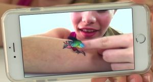 tatouage-temporaire-réalité-augmentée