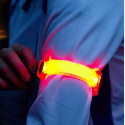 Bracelets Slap à LED publicitaires