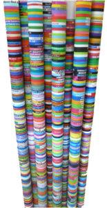différentes couleurs de bracelets silicone personnalisés