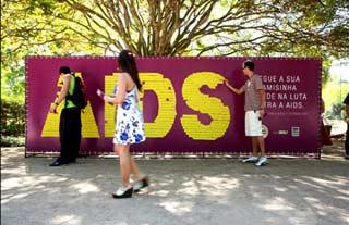 Campagne de prévention contre le sida